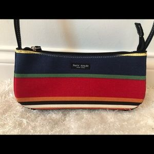 Kate Spade multicolor striped purse
